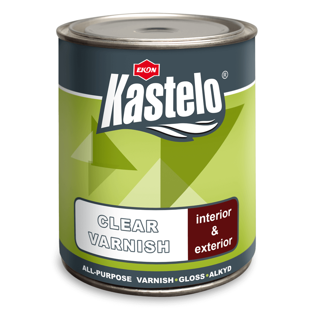 Kastelo Clear Varnish - sintetichen lak