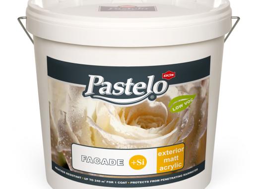 Pastelo Фасадна боя със силикон